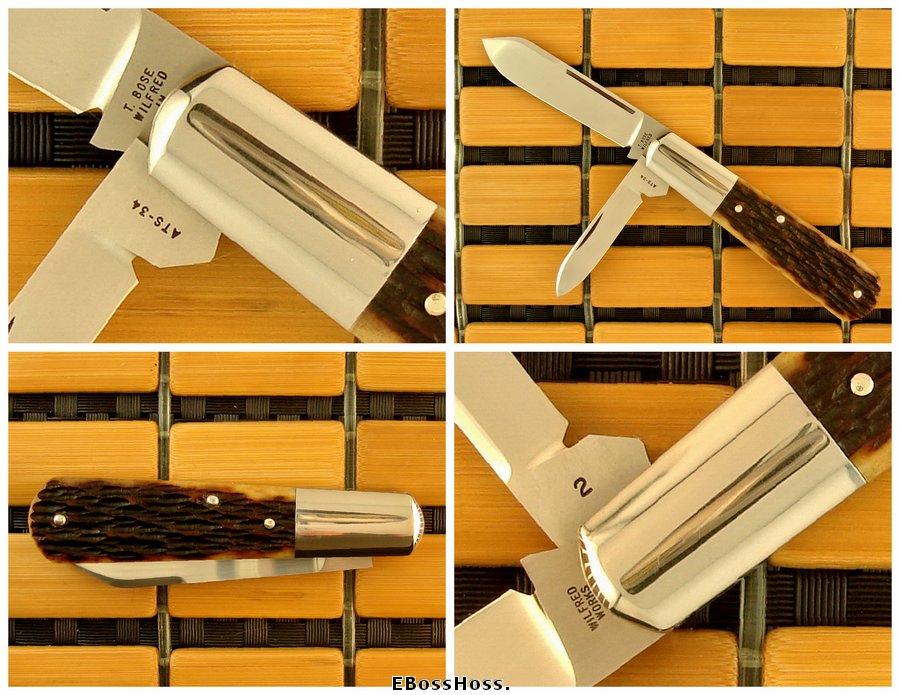 Tony Bose 3 1/4-inch Barlow w/Spear Master Blade