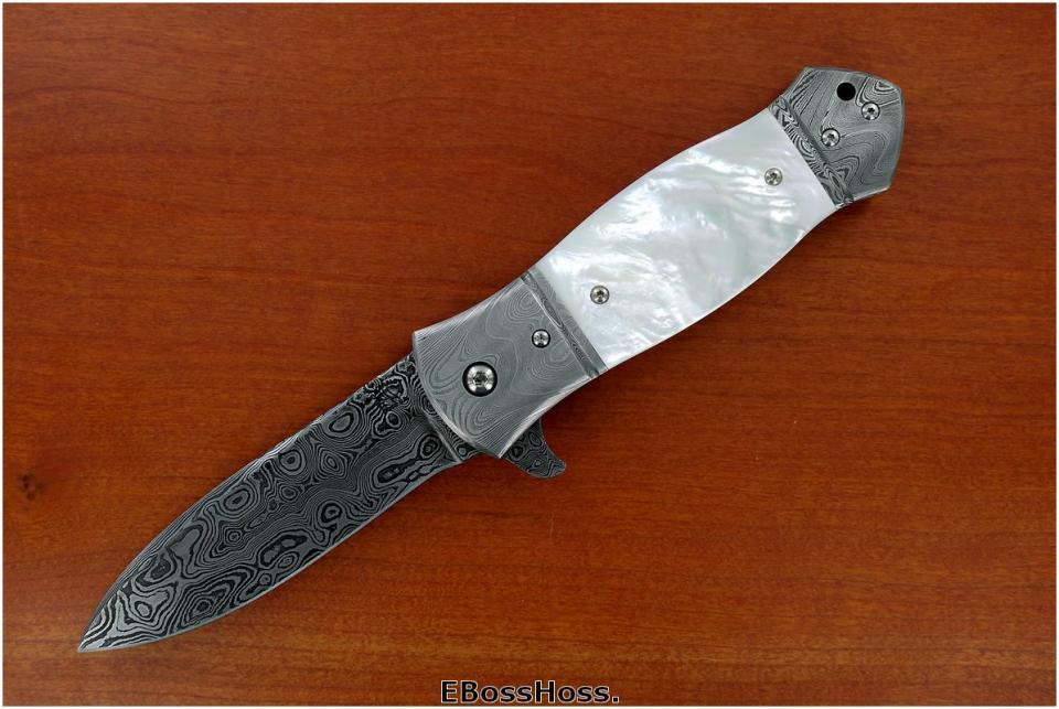 D.B. Fraley Deluxe Dbl. Bolstered Dagger-Grind Flipper