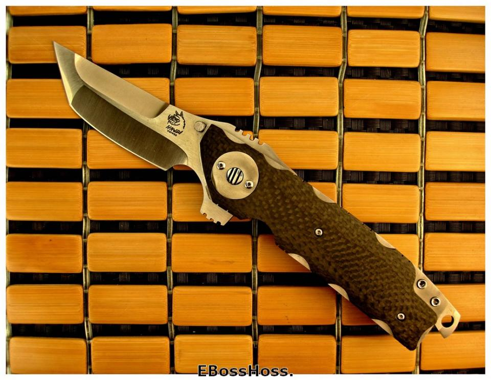 Mike Franklin Hawg Knives Tactical Extreme El Lobo Flipper