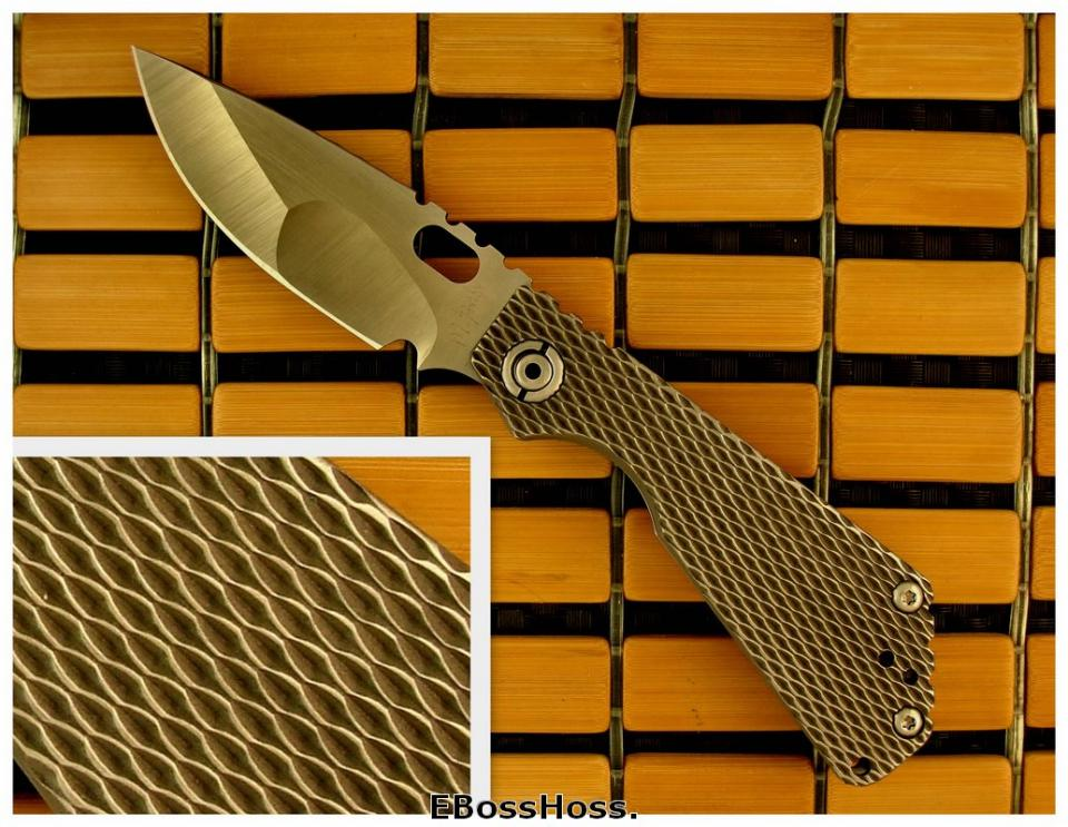 Mick Strider Custom Slipjoint SnG