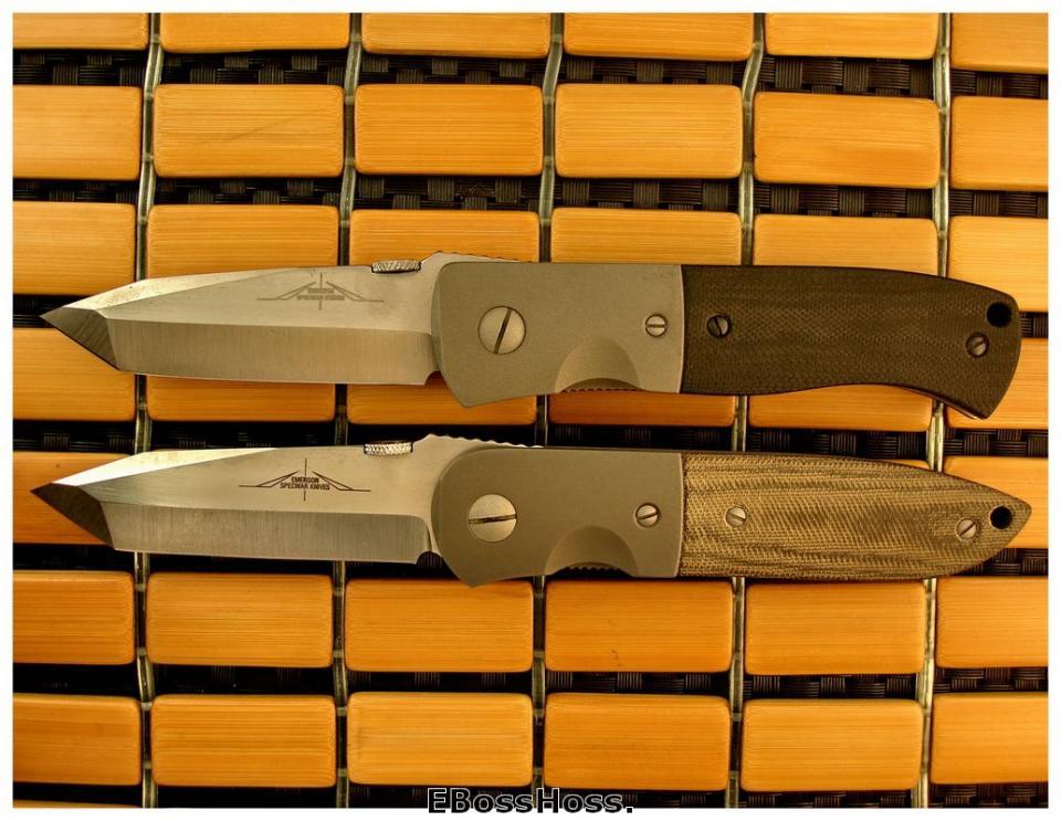 Ernie Emerson -- Pre-factory CQC-7 & CQC-6