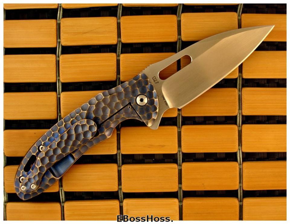 Korth Cutlery Carved Sentry Flipper