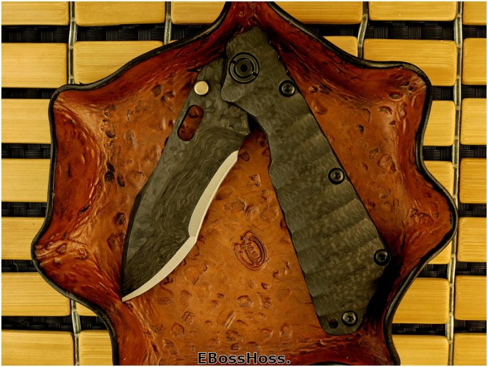 Mick Strider Laminated-Blade SMF - CF & Titanium