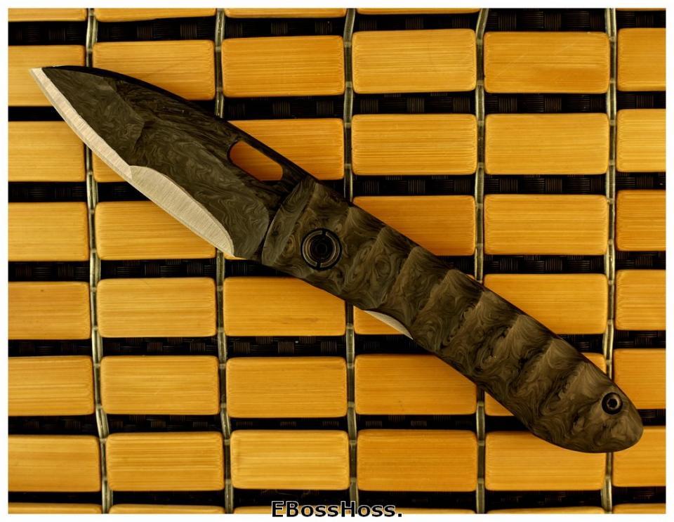 Mick Strider Mini-AKAK - Laminated Blade