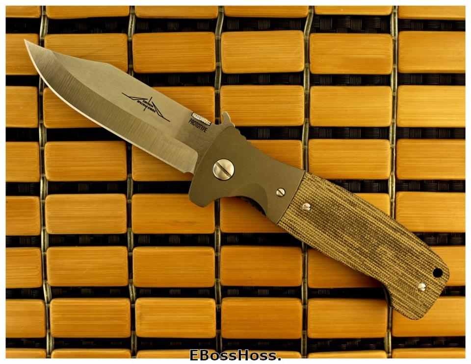 Ernie Emerson Custom CQC-12 Prototype