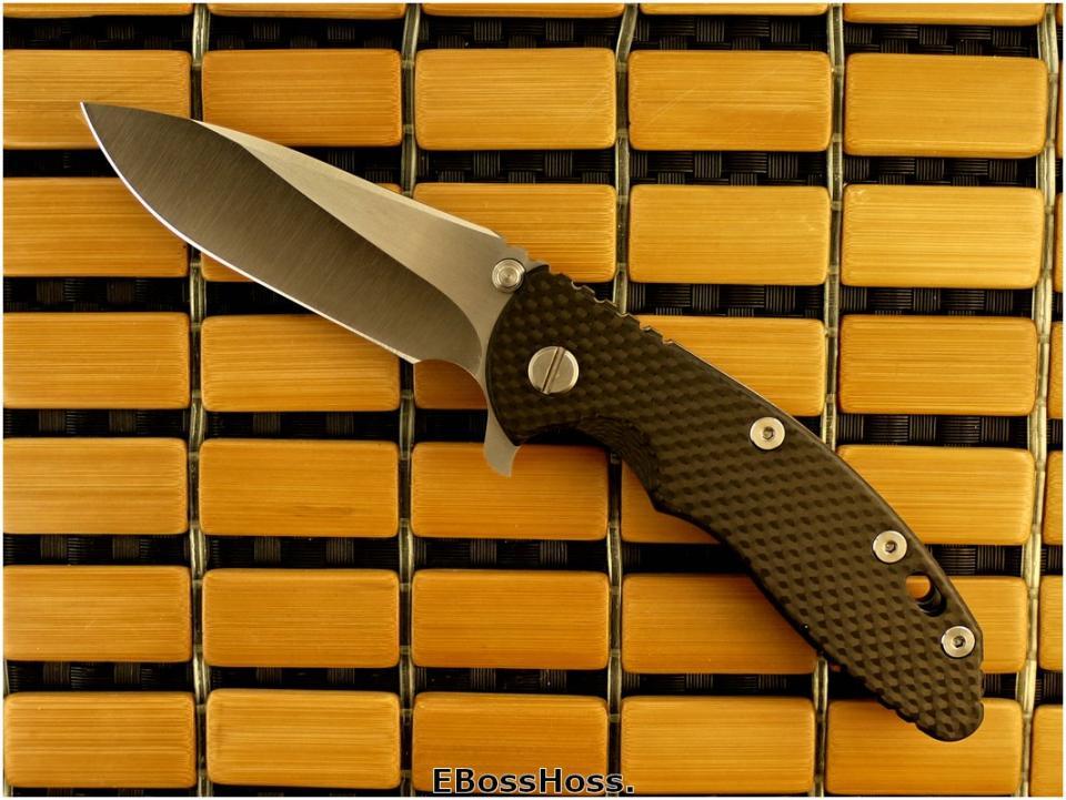 Rick Hinderer Custom XM-18 Slicer-grind