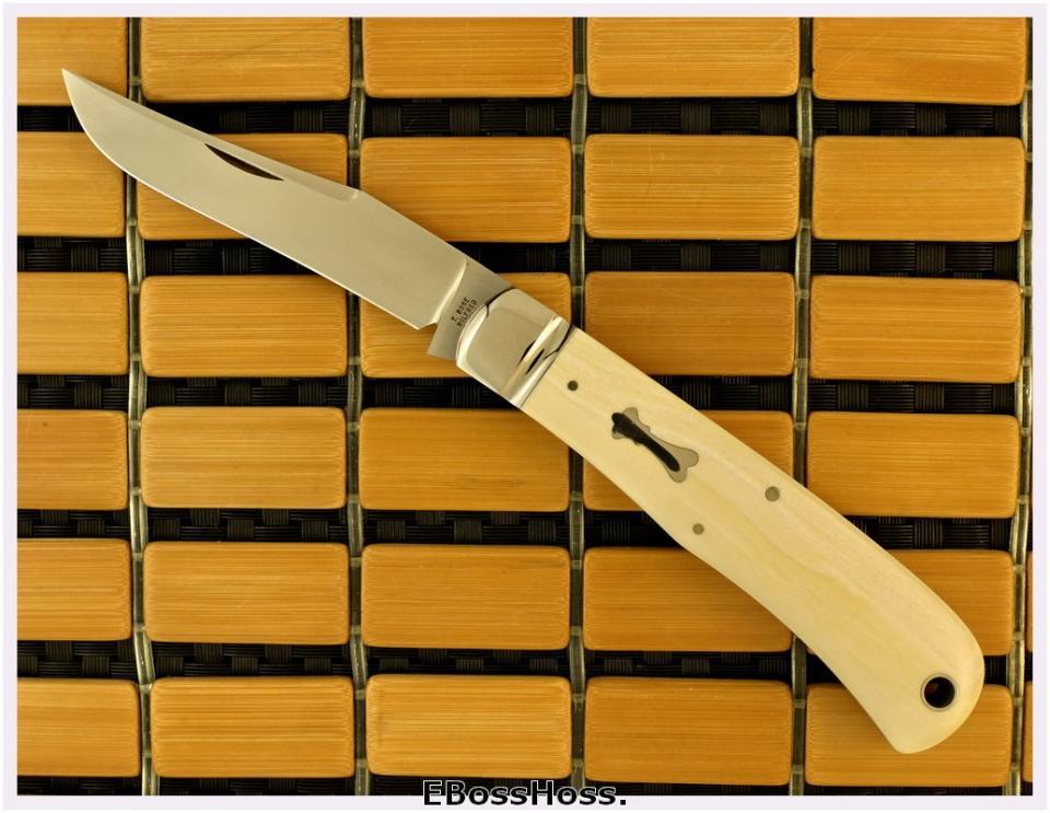 Tony Bose Ivory 4 5/8-inch Ivory Backpocket