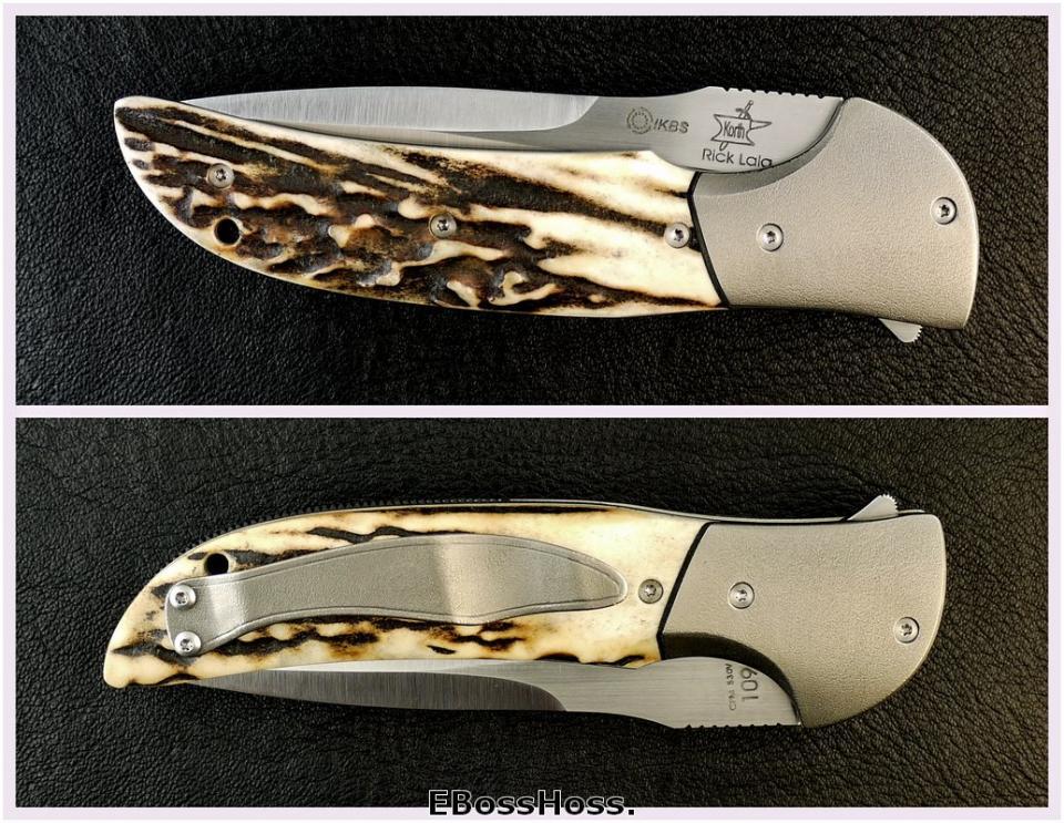 Korth Cutlery Deluxe Stinger Flipper