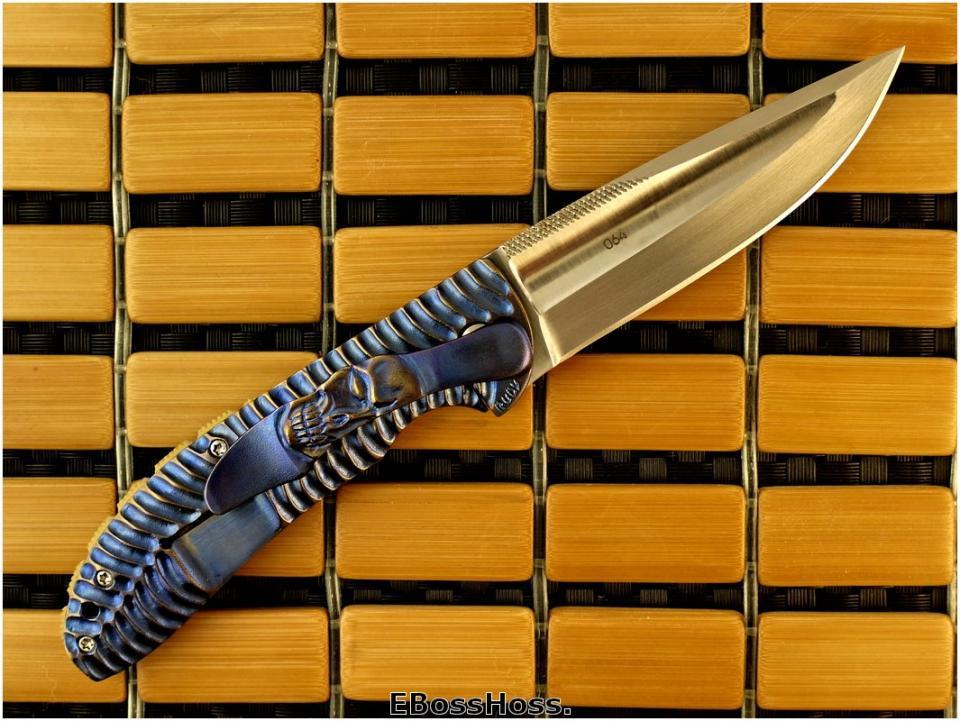 Korth Cutlery Carved Amazonas