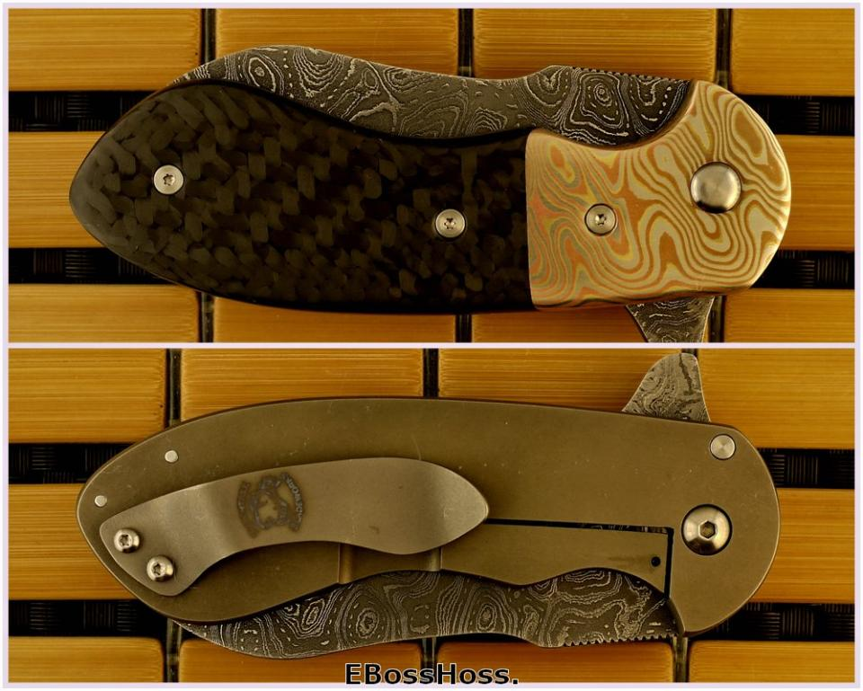 Michael Burch Deluxe Impetus Framelock Flipper