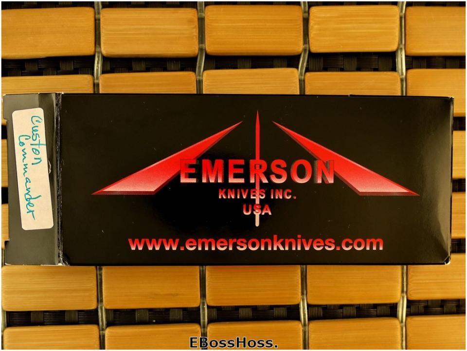 Ernie Emerson Bolstered Custom Commander