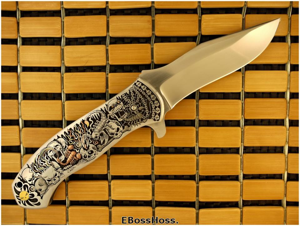 D.B. Fraley Super Deluge Masterfully Engraved by CJ Cai