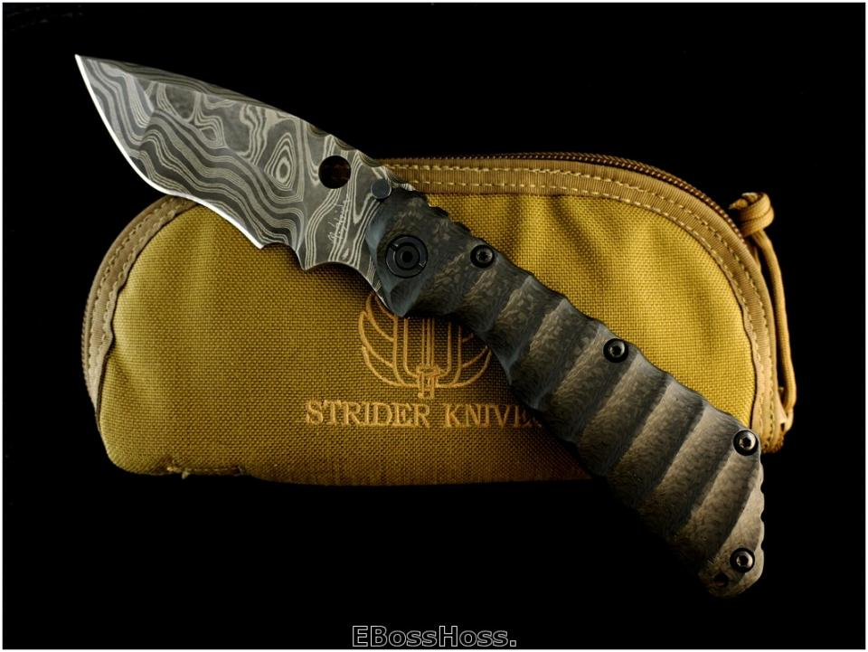 Mick Strider Damascus XL SnG