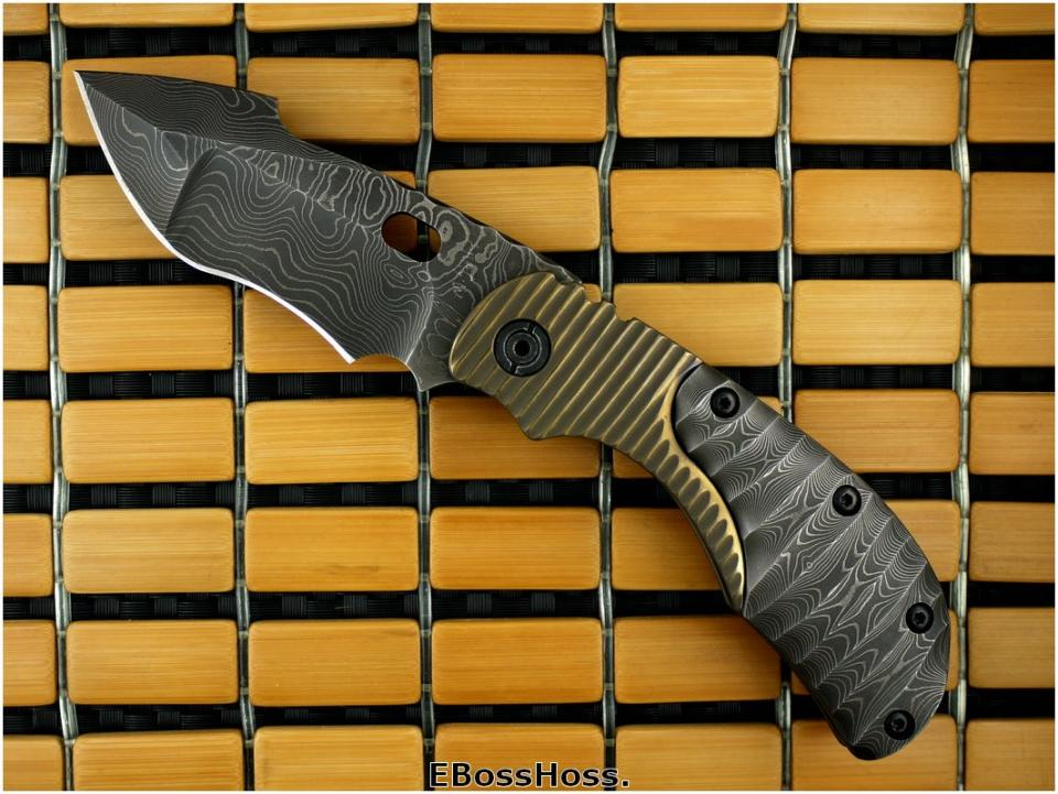 Mick Strider Custom (MSC) Damascus RC (1 of 2)