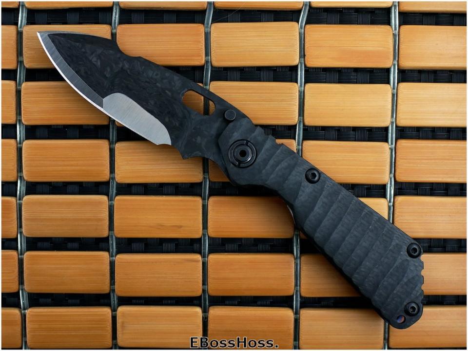 Mick Strider Custom (MSC) Carbon-Fiber/Titanium SnG