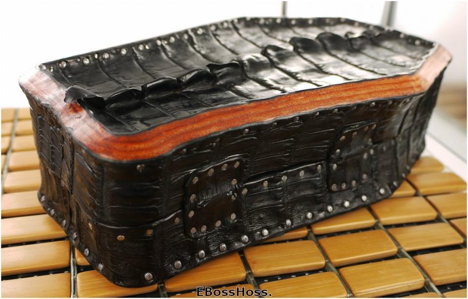 Greg Everett Hand-made Coffin Box