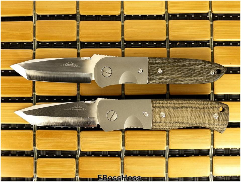 Ernest Emerson Garage Knives