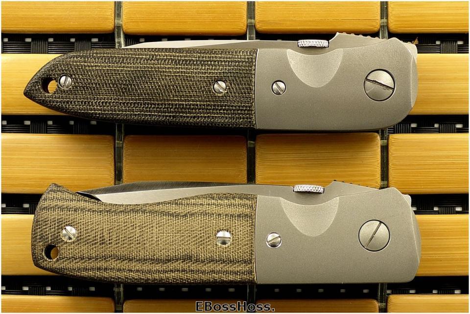 Ernest Emerson Garage Knives
