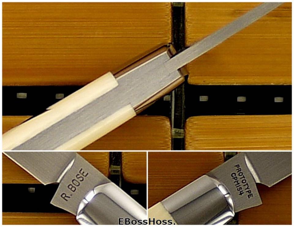 Reese Bose Ivory Teardrop Prototype