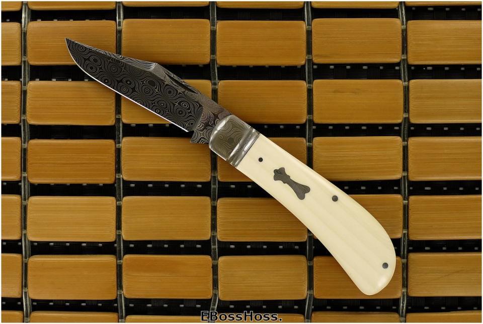 Tony Bose Damascus Lanny's Clip