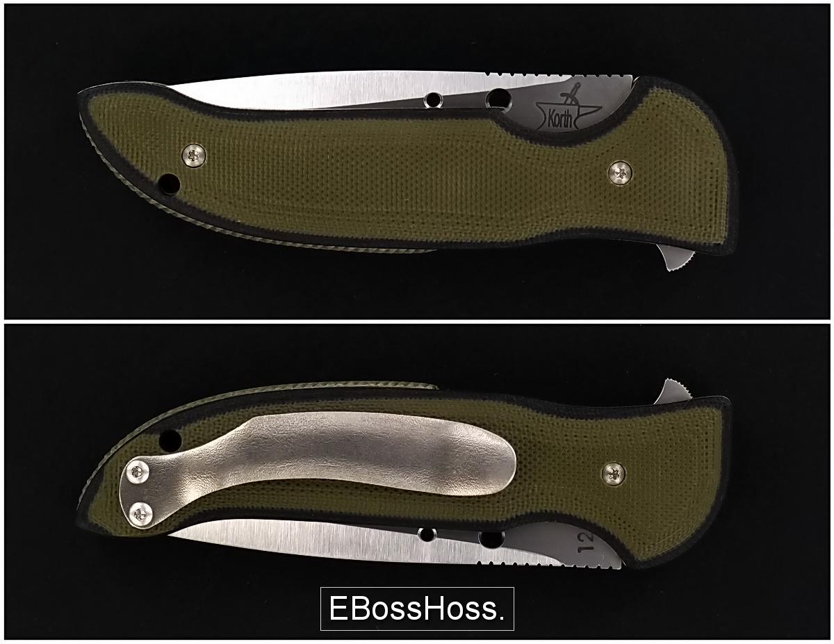 Korth Cutlery Stinger Flipper