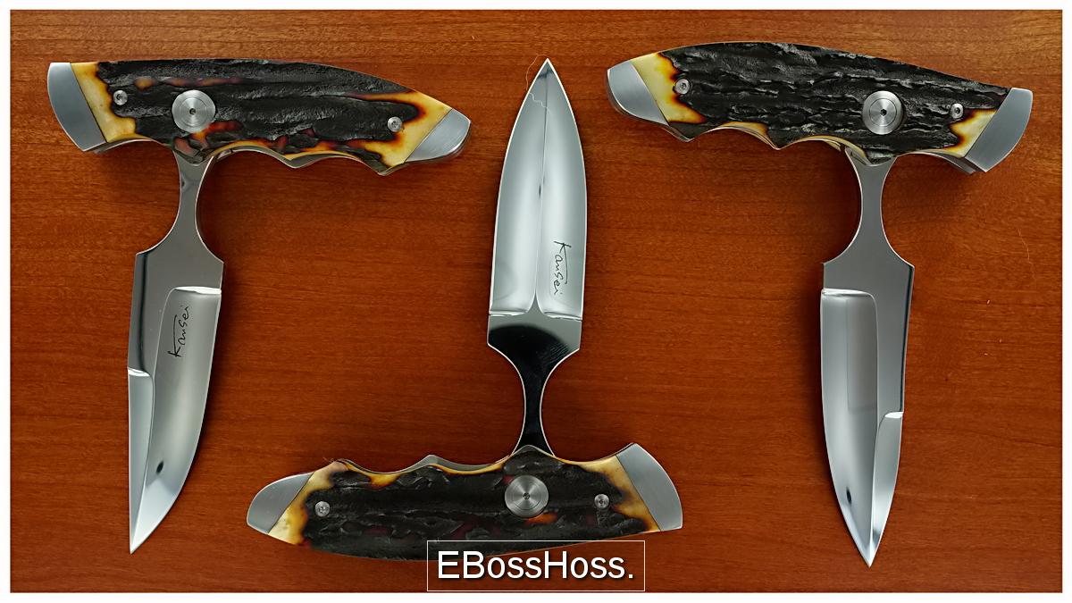 Kansei Loveless-style Sheath Knife / Push-Dagger Convertible
