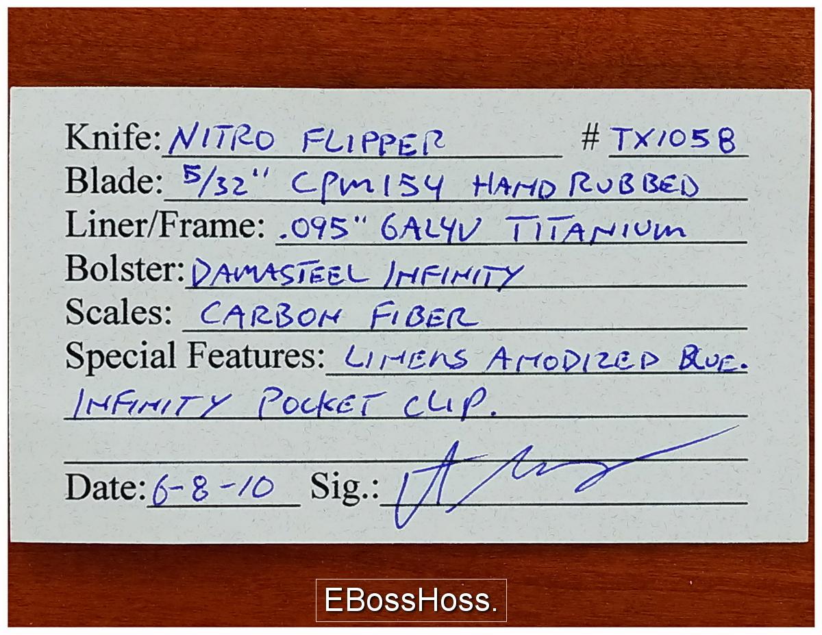 Peter Carey Deluxe Nitro Flipper