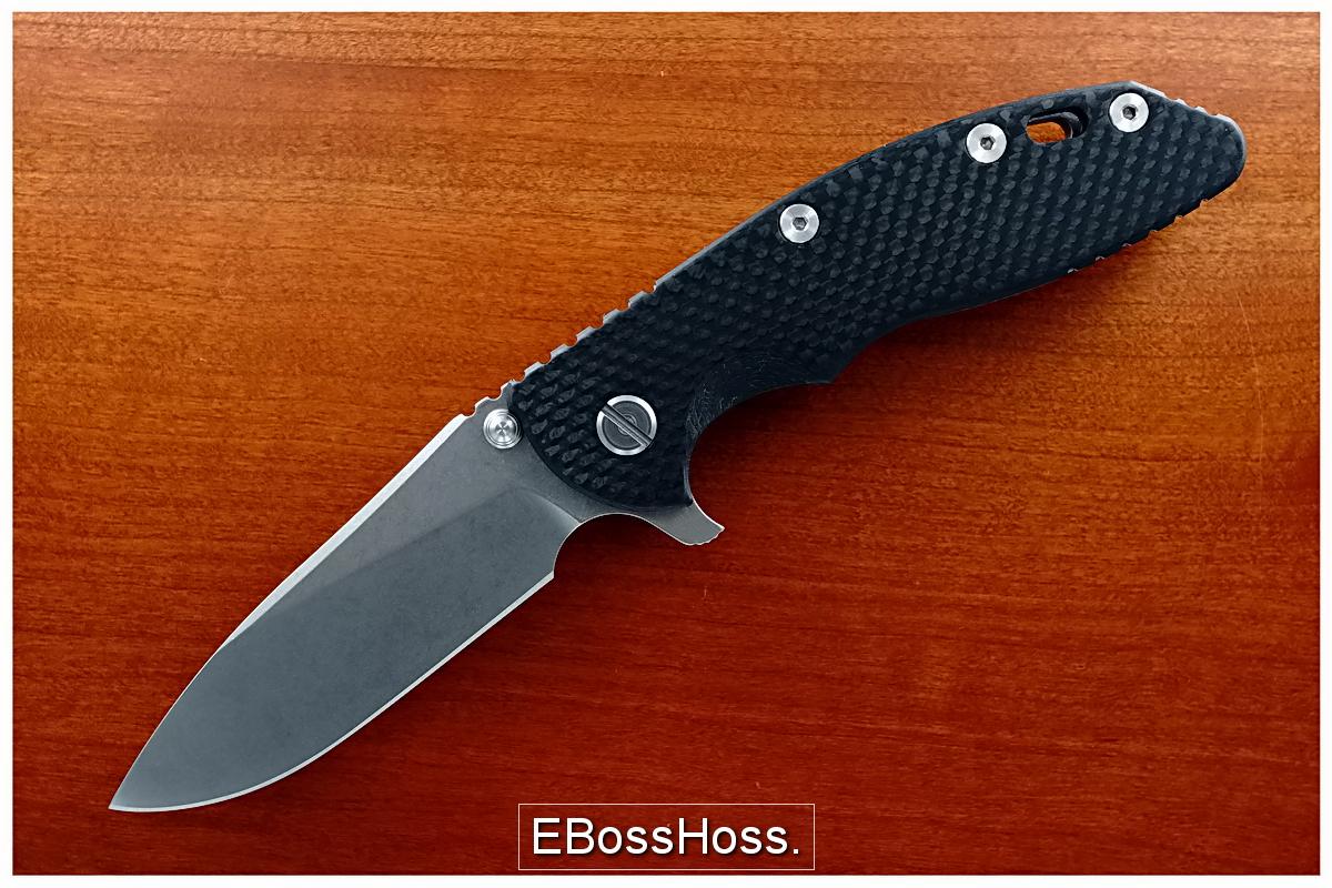 Rick Hinderer XM-18 Carbon-Fiber Slicer Flipper