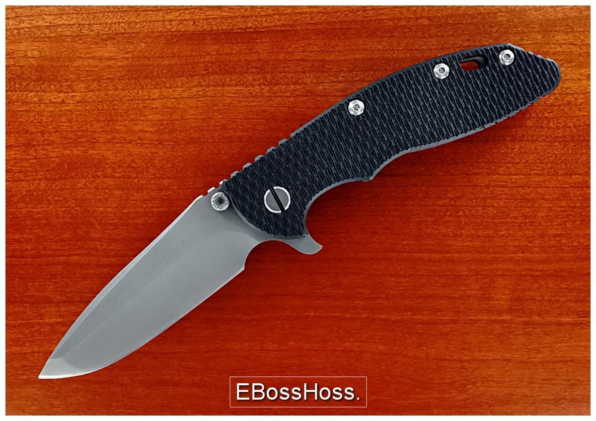 Rick Hinderer Custom Gen 1 XM-18 Flipper