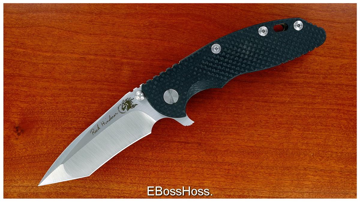 Rick Hinderer Custom XM-18  Hellfire Flipper