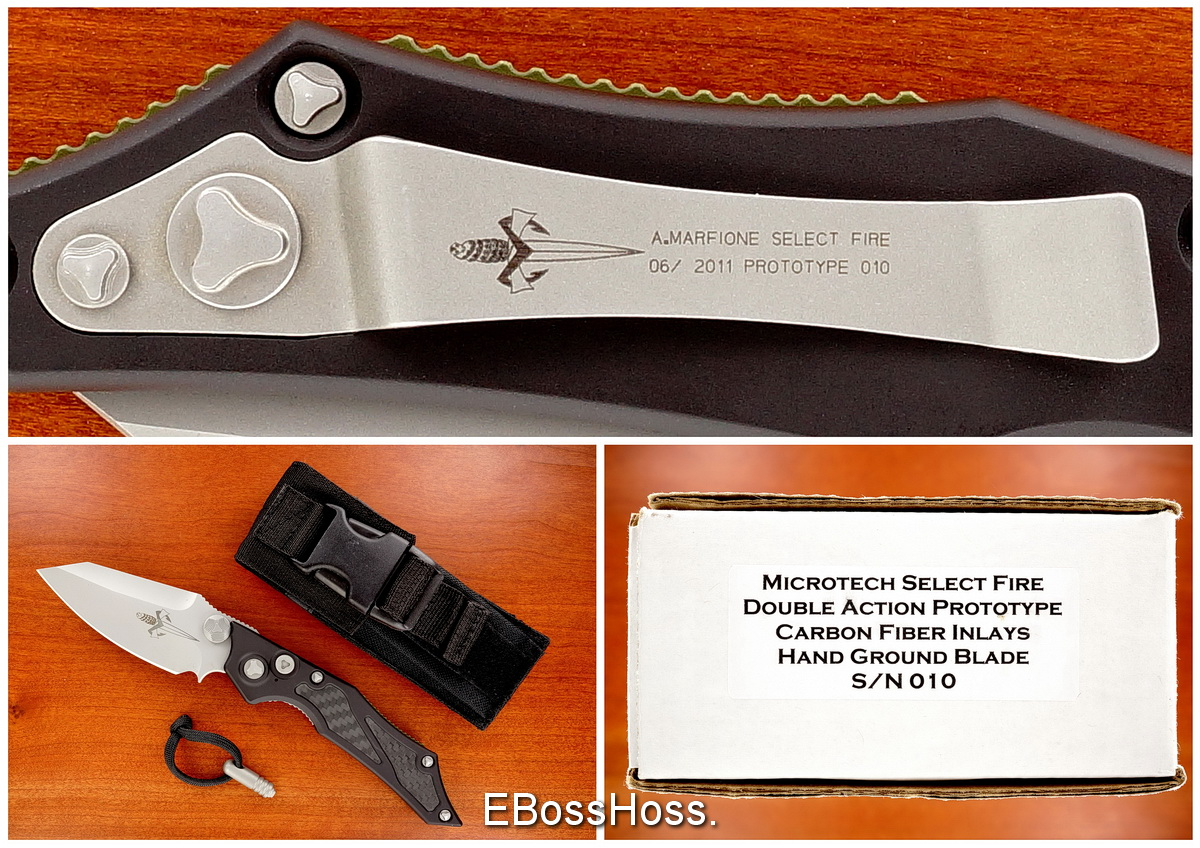 Anthony Marfione (Microtech) Custom Select Fire Prototype