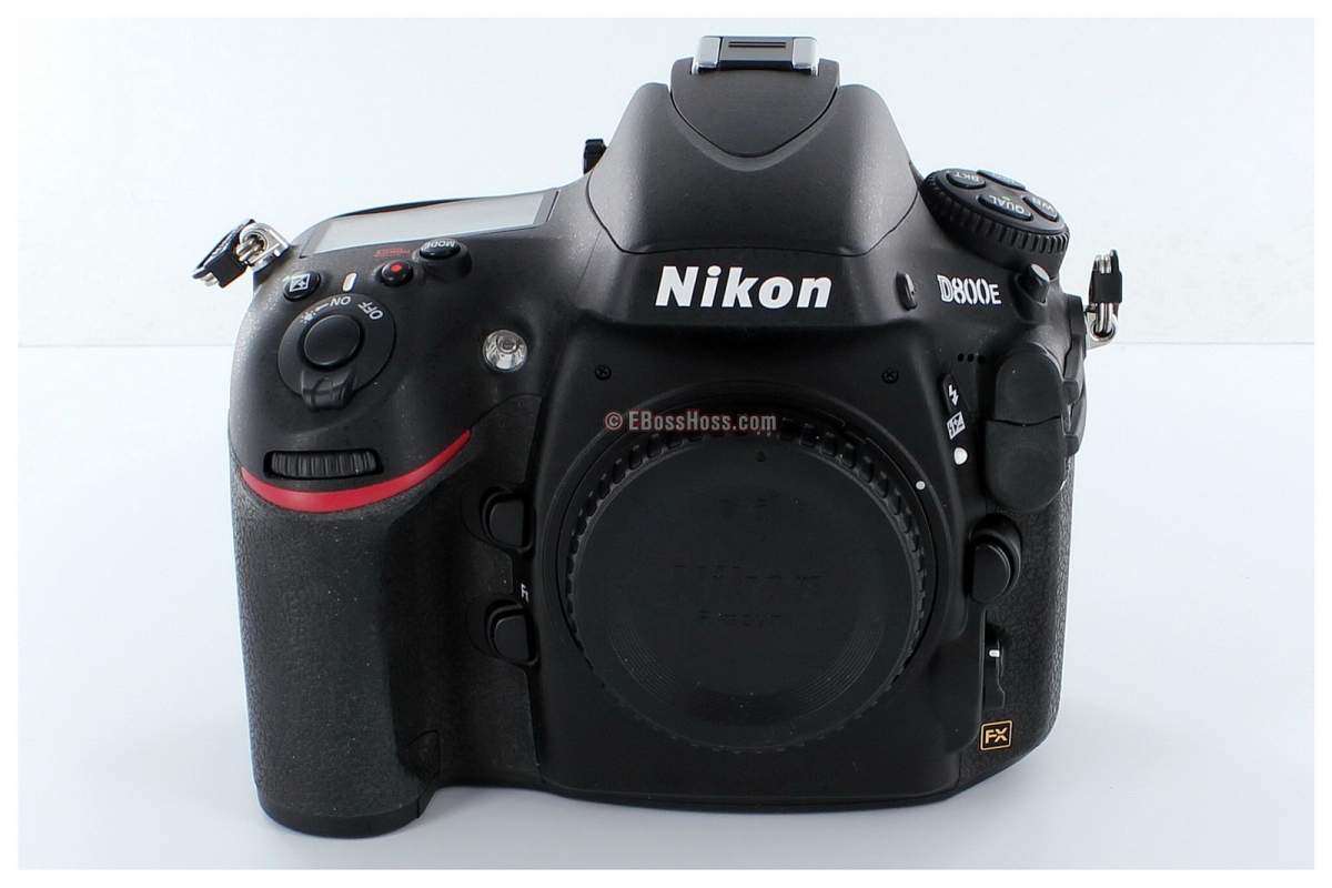 Nikon D800E 36.3 MP CMOS FX-Format Digital SLR Camera (Body Only) + 3 Batteries