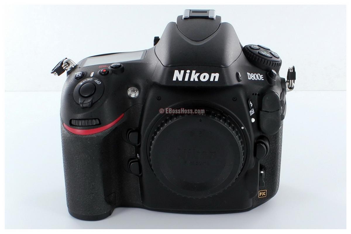 Nikon D800E 36.3 MP CMOS FX-Format Digital SLR Camera (Body Only) + 3 Batteries