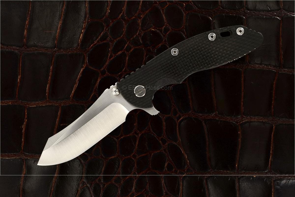 Rick Hinderer Custom Gen-4 XM-18 Skinner Flipper