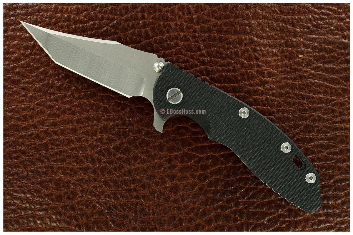 Rick Hinderer Gen 4 Custom XM-18 Aggressor-Tanto Flipper