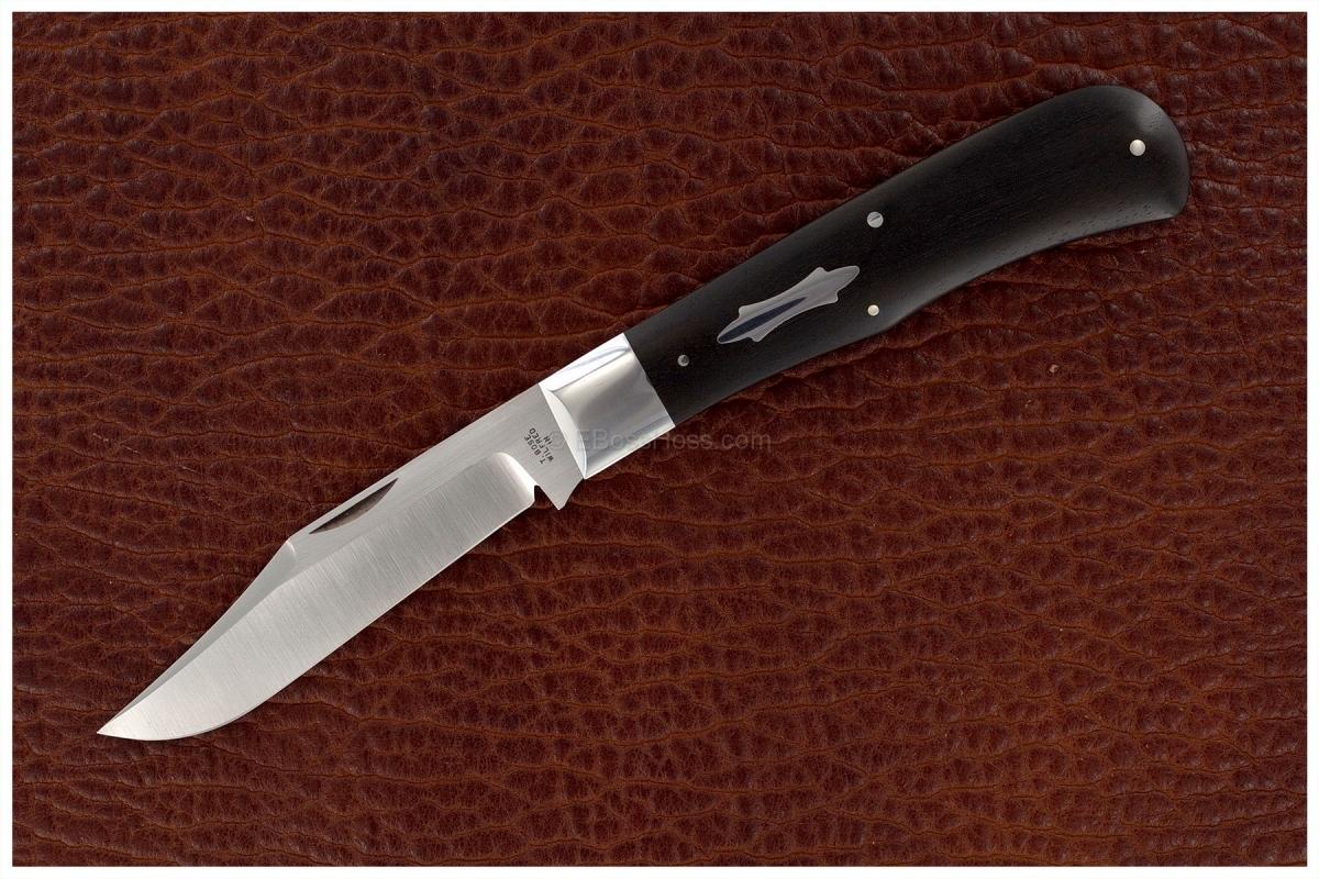 Tony Bose 4 5/8-inch Saddleback - Marked No. 0
