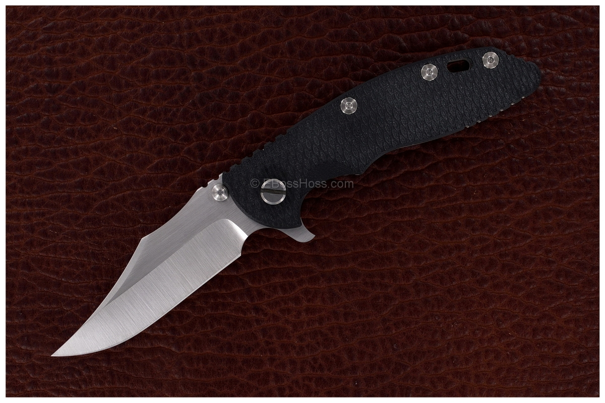 Rick Hinderer Gen 4 Custom XM-18 Bowie Flipper - A One-Off Variant *