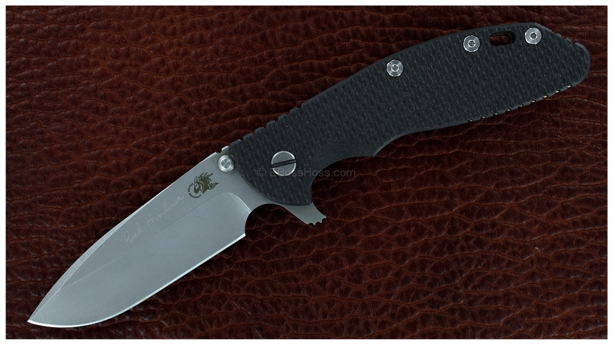 Rick Hinderer Custom XM-24 Spearpoint Flipper