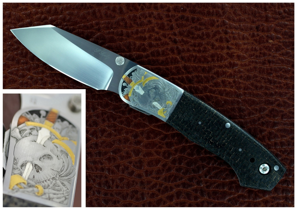 Scott Sawby Combat Utililty Masterfully Engraved by Jon Robyn