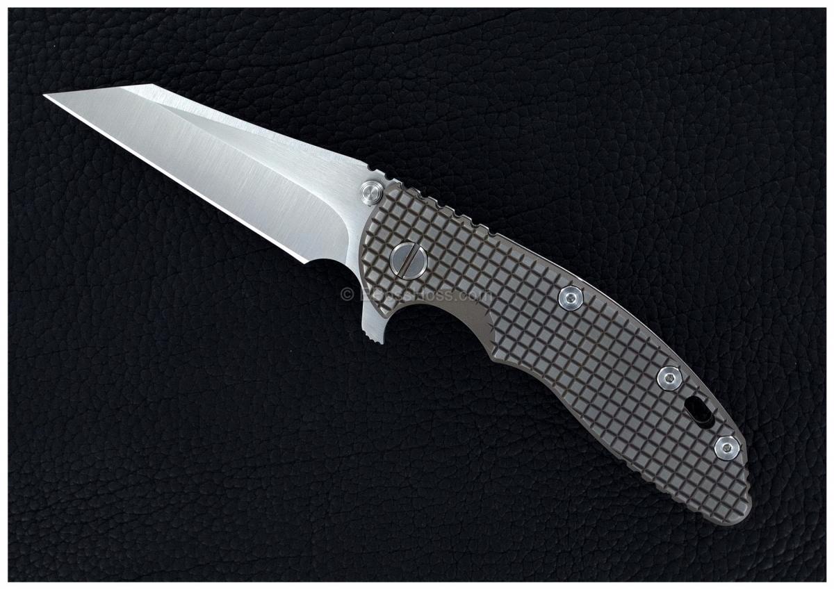 Rick Hinderer Custom XM-18 FRAG Wharncliffe Flipper
