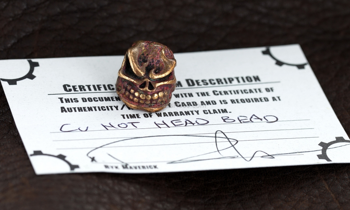 Starlingear Copper Hot Head Bead