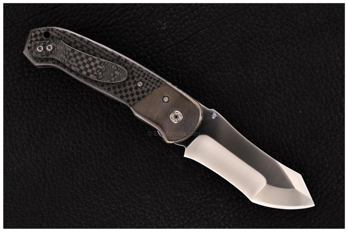 SK Knives (Steve Kelly) Custom Bolstered Collision Folder