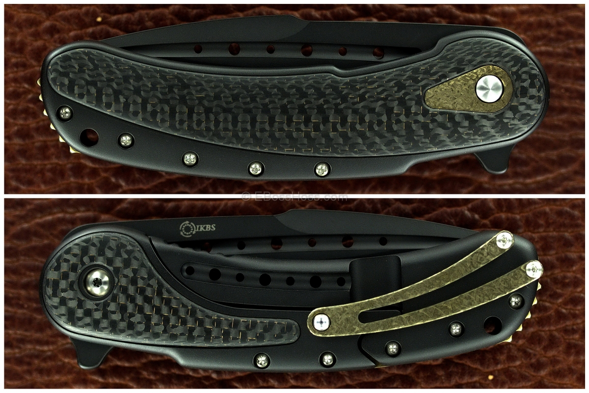 Todd Begg Black - Gold Bodega Flipper