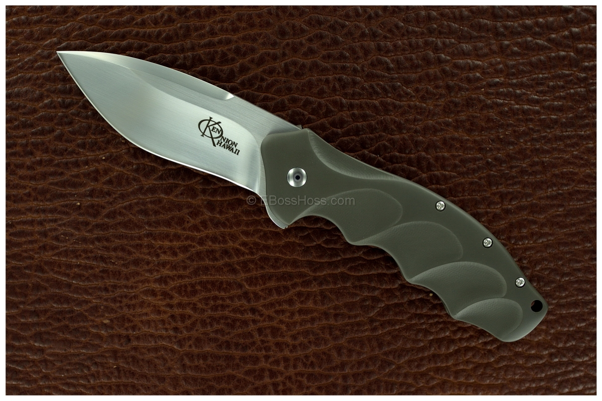 Ken Onion Custom Lawman (formerly called The Boss) Speedsafe Flipper