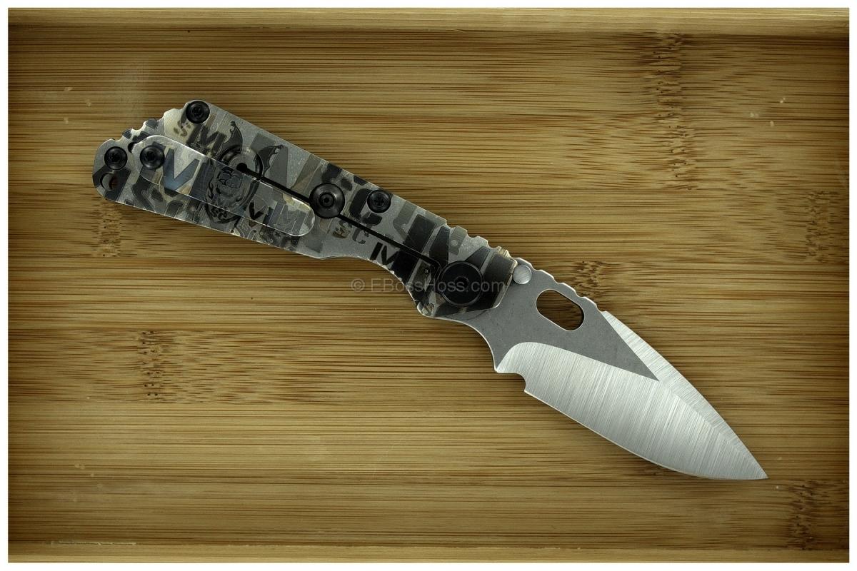 Mick Strider Custom (MSC) Modified-Dagger SnG w/Extra Marks & Logos