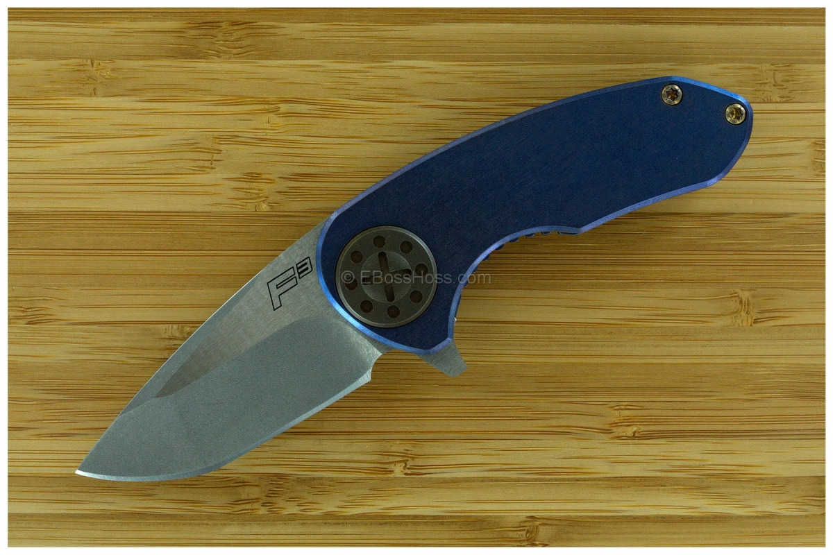 Curtiss Knives F³ Compact Framelock Flipper