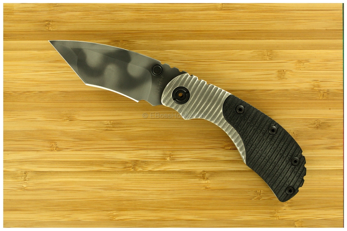 Mick Strider Custom (MSC) Bolstered Nightmare Recurve Tanto RCC