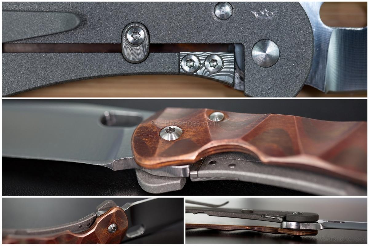 Jürgen Schnaz Custom Model 2 Pocket Knife