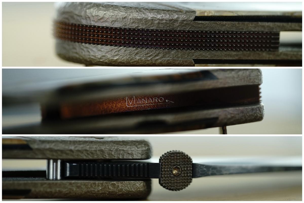 Sal Manaro Double D-Luxe Bullseye