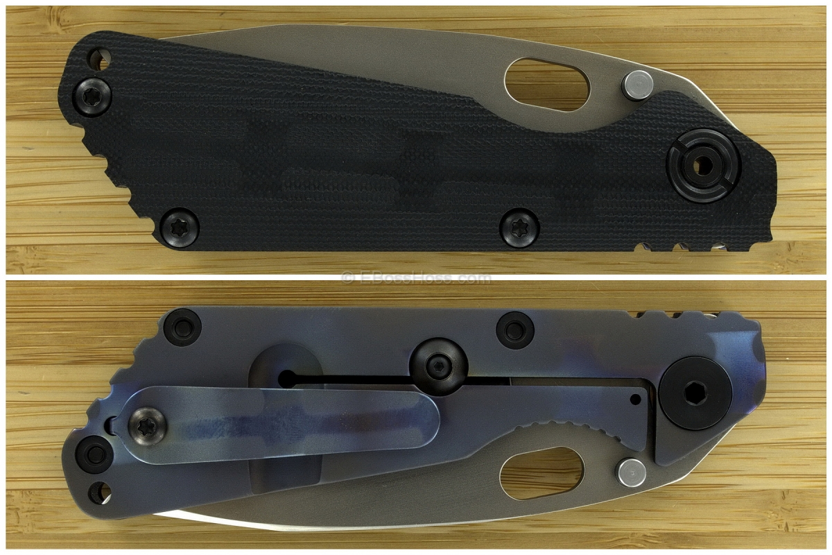 Duane Dwyer Custom SnG Modified Spanto ( Strider Knives )
